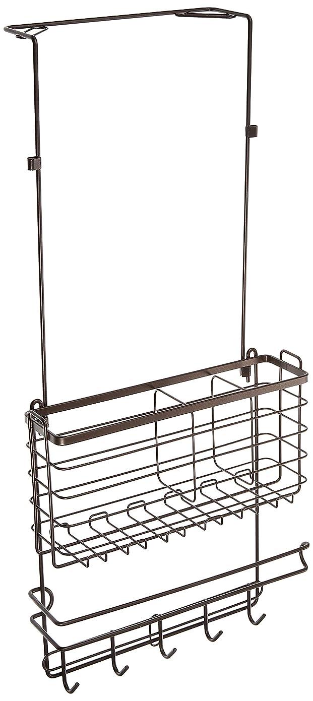 反毒同一性ナットアネスティカンパニー 冷蔵庫 サイド ラック ブロンズ 幅27×奥行17×高さ60cm 2段階で調節可能 スタイルフリー HO1728