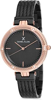 Daniel Klein Womens Quartz Watch, Analog Display and Stainless Steel Strap - DK12193-3