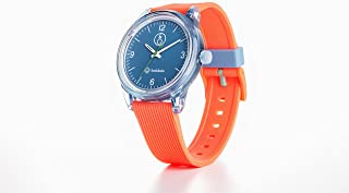 Q&Q Boys RP10J009Y Year-Round Analog Solar Powered Orange Watch