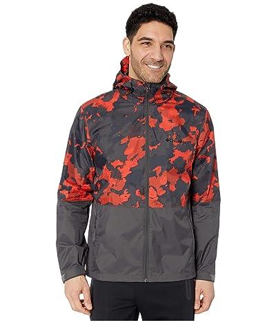 Columbia Roan Mountaintm Jacket (Carnelian Red/Cloudy Clouds Print/Shark) Men
