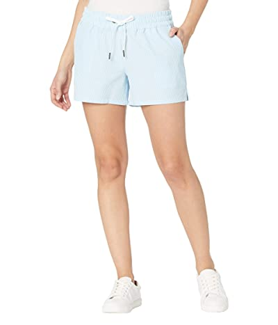 Southern Tide Seersucker Coastal Performance Shorts Women