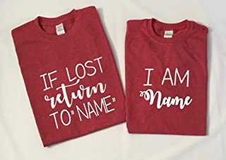 if lost return to custom shirts