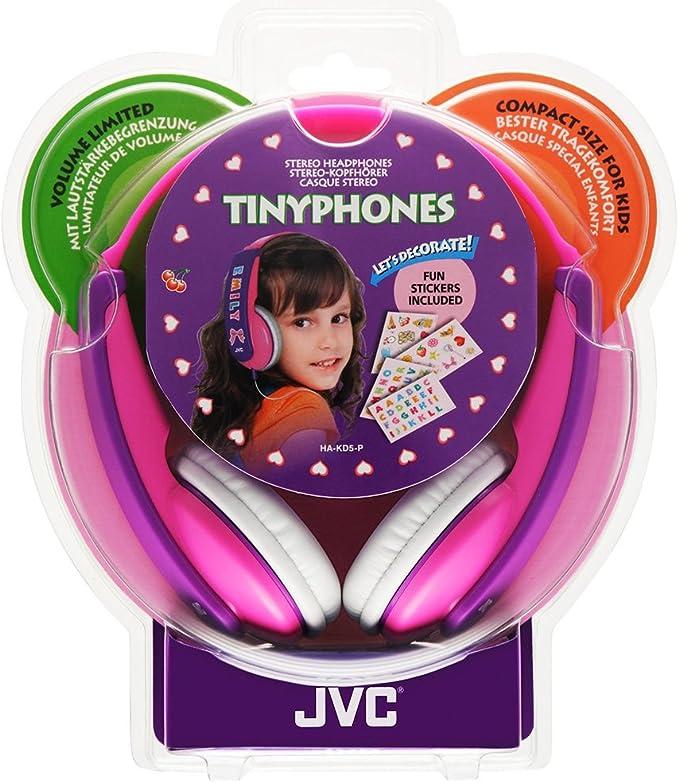 Jvc Ha Kd5 V E Kinder Stereo Kopfhörer Mit Reduzierter Elektronik