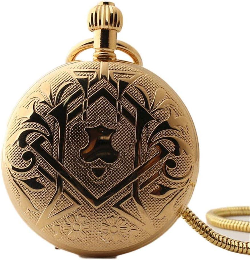XJJZS Pocket Watch Mechanical Shield Low 55% OFF price Women Mens Roman Nu Vintage