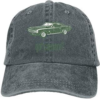 eeb4101d31 1969 Chevrolet Camaro SS Hat Snap-Back Hip-Hop Cap Baseball Hat Head-