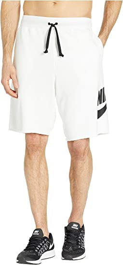 3242a649514a83 Nike aw77 french terry alumni shorts