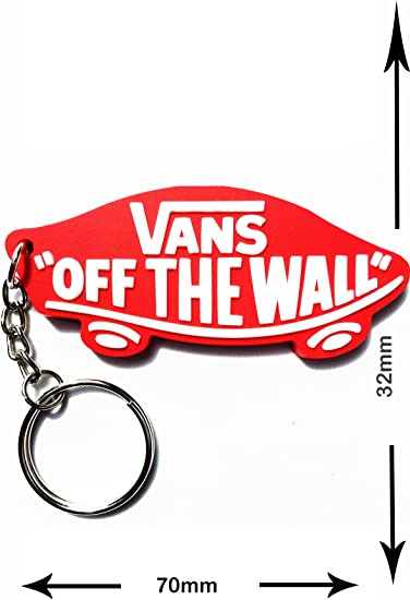 Amazon.fr : Porte-clés-Vans Off The Wall-Rouge-Streetwear ...