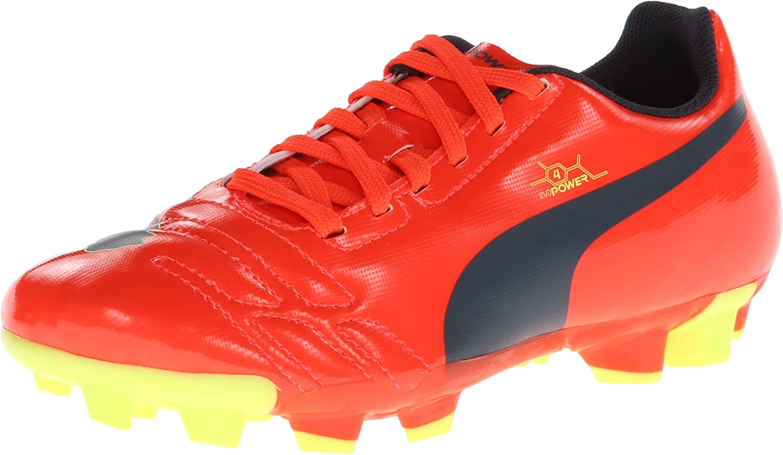 Amazon.com | PUMA evoPOWER 4 Firm-Ground JR Soccer Cleat (Little ...