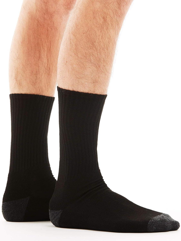 18 Pack Bolter Men's Crew Socks