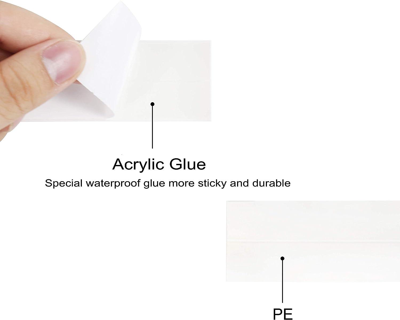 1-1//2 x 10.5 Leaf Homid Caulk Strip 2 Pack,PVC Self Adhesive Waterproof Caulking Sealing Tape Caulking Sealing Tape for Kitchen Sink Toilet Bathroom Shower and Bathtub