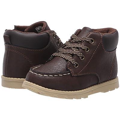 Carters Brand (Toddler/Little Kid) (Brown PU) Boy