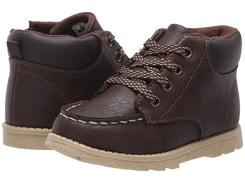 Carters Brand (Toddler/Little Kid) (Brown PU) Boy