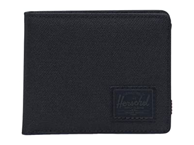 Herschel Supply Co. Roy Coin RFID (Black/Black) Wallet Handbags