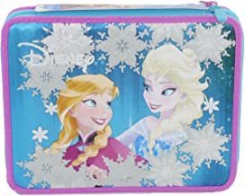 Astuccio maxi 2 cerniere Frozen Magic star completo Seven