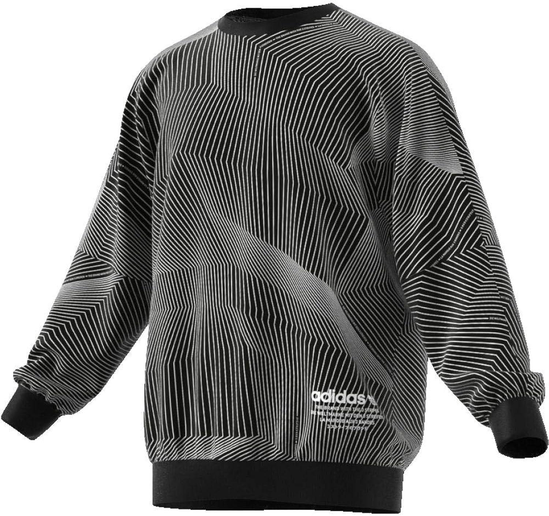 Adidas Felpa GIROCOLLO men black CE1605-BLACK