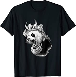 Panda Bear Samurai Warrior Gift T-Shirt