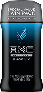AXE Deodorant Stick for Men, Phoenix, 3 Ounce, Pack of 2