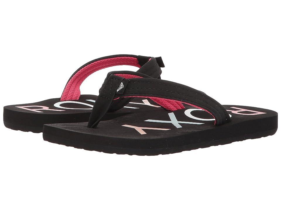 Roxy Kids Vista II (Little Kid/Big Kid) (Black) Girls Shoes