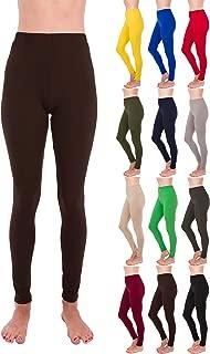 Premium Ultra Soft High Rise Waist Full Length Regular and Plus Size Leggings