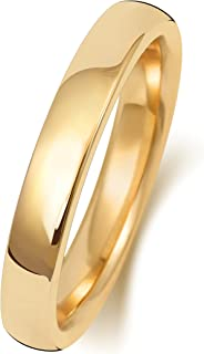 Anello Fede Nuziale Uomo/Donna 3mm in Oro giallo 9k (375) WJS189569KY