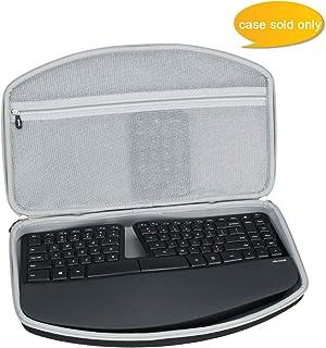 Aproca Hard Carry Travel Case fit Microsoft Sculpt Ergonomic Keyboard (5KV-00001)