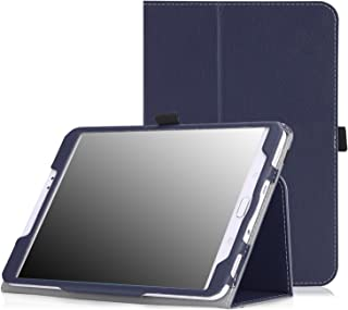 MoKo Tab S2 8.0 Case - Slim Folding Cover Case for Samsung Galaxy Tab S2 / S2 Nook 8.0 inch Tablet, Indigo (with Auto Wake/Sleep and Stylus Pen Loop)