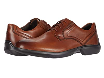 Rockport Total Motion Advance Plain Toe (Cognac) Men