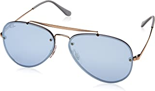Ray-Ban Blaze Aviator Non-Polarized Iridium Sunglasses BRONZE 58 mm