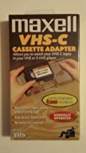 Maxell VHS-C Adapter