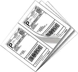 1000 Half Sheet Laser/Ink Jet Shipping Labels UPS FedEx Address Labels