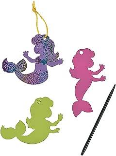 Fun Express Pastel Magic Color Scratch Mermaids - 24 ct