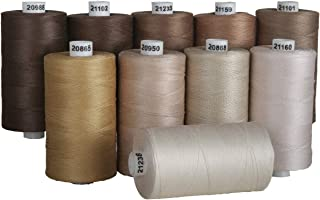 Connecting Threads 100% Cotton Thread Sets -1200 Yard Spools (Neutral)