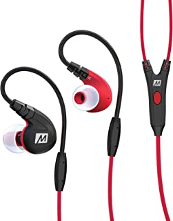 MEE audio M7P Secure-Fit Sports In-Ear Headphones with Mic, Remote, and Universal Volume..