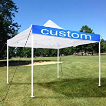 outdoor tent with logo