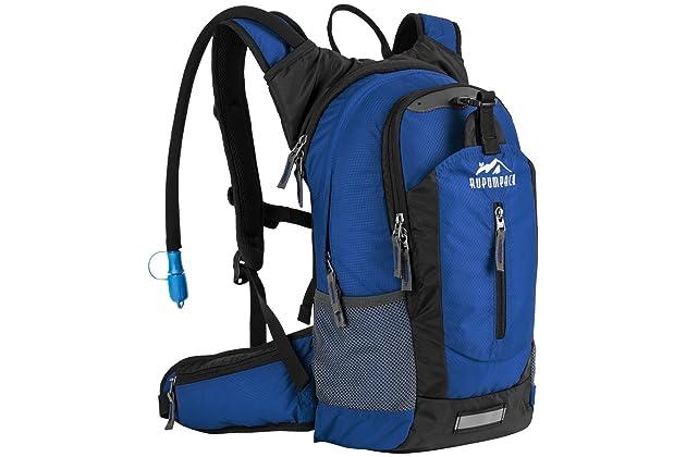 RUPUMPACK Insulated Hydration Backpack Pack with 2.5L BPA Free Bladder d61feb07dd8b4