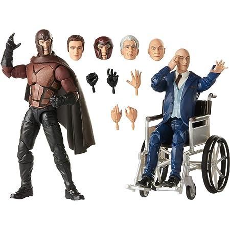 Hasbro Marvel Legends Series X-Men - Figuras coleccionables de Magneto y el Profesor X de 15 cm - Edad: 14 años en adelante