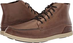 0395b277ce Olukai ohana lace up nubuck dark wood toffee