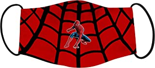 Vista Kids Cartoon Spider man Web Slinging Mask- Cotton Reusable Washable Mask Size 18x10cms