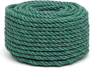 Flandria 20023 Seil PP Durchmesser 12 mm x 50 m, grün