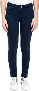 ROY ROGER'S Luxury Fashion Womens RND002P2570112982 Blue Pants | Fall Winter 19