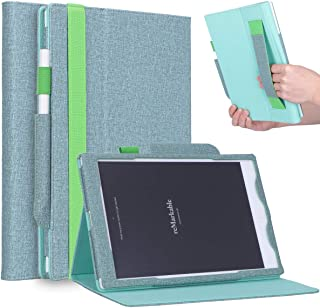 Jasilon Remarkable Tablet Case, [Kickstand Feature] [Remarkable Pen Holder] [Hand Strap] Leather Folio Case Stand Cover for Remarkable Paper Tablet 10.3