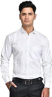 ANZEA Men Regular Fit 100% Cotton Plain Formal Shirt