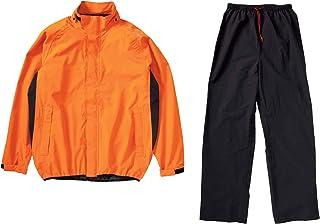 HONDA(ホンダ) バイク用レインスーツ ES-W42 ストレッチブレイズ セパレートオレンジ Lサイズ 0SYES-W42-DL