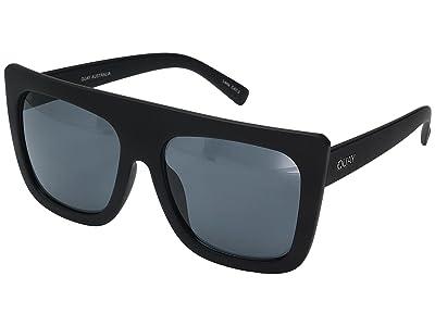 QUAY AUSTRALIA Cafe Racer (Black/Smoke) Fashion Sunglasses