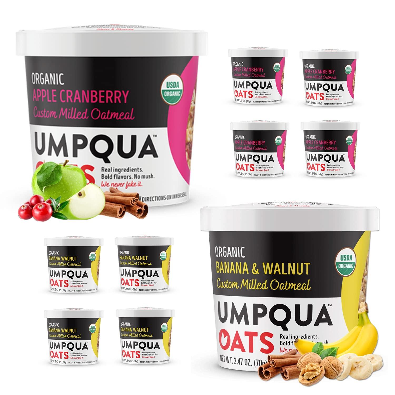 Umpqua Oats Organic Oatmeal Max 54% OFF All OFFicial store Premium Cups Oat Natural