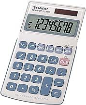 Sharp HO EL240SB 8 Digit Solar and Battery Powered Slant Display Calculator