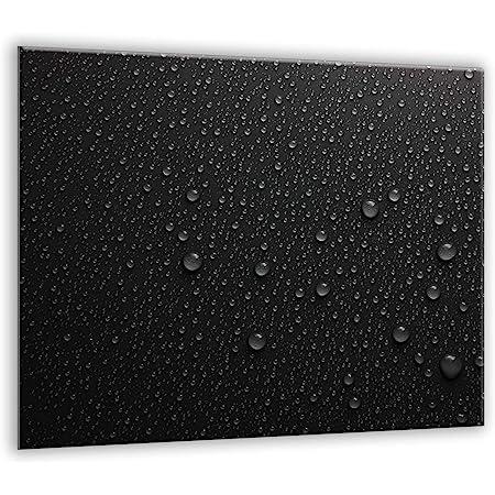 Plateau de protection universel pour plaques de cuisson en verre trempé de 4 mm, pour verre, céramique, induction 1 Pi?ces 60 x 52 cm   Planche Découper   protection murale en verre dans la cuisine