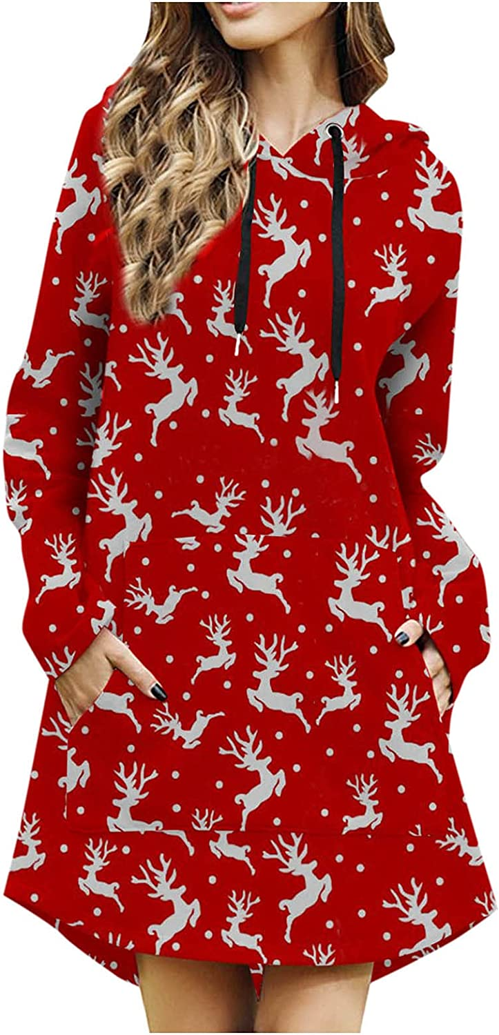 Women Sweatshirt Dress Luxury goods Christmas sold out Pullover Sleeve Hoodies Long Dr