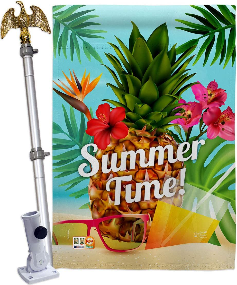 Fun in The Sun Summer Beach Time Limited price Eagle Luau Set Outlet SALE House Flag Pool