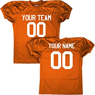 Crunch Time Custom Football Jersey Fully Customized with Names & Numbers